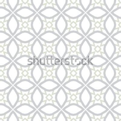Nálepka Abstraktní pozadí textury v geometrickém ornamentálním stylu. Bezešvé design.