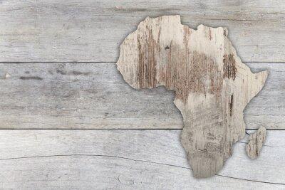 Nálepka Afrika