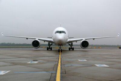 Nálepka Airbus A350 čelní