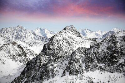 Nálepka Alpy