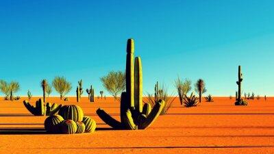 Nálepka Americká poušť