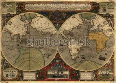 Nálepka Ancient map
