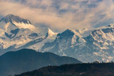 Nálepka Annapurna rozsah při východu slunce
