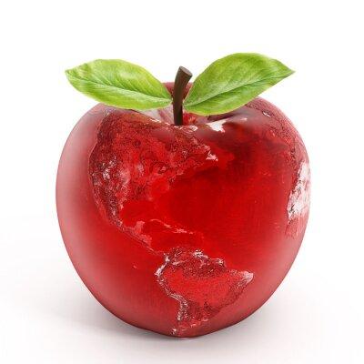 Nálepka Apple země