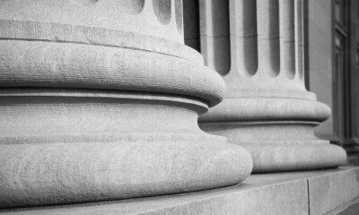 Nálepka Architektonické Sloupce v klasickém Federal Buuilding