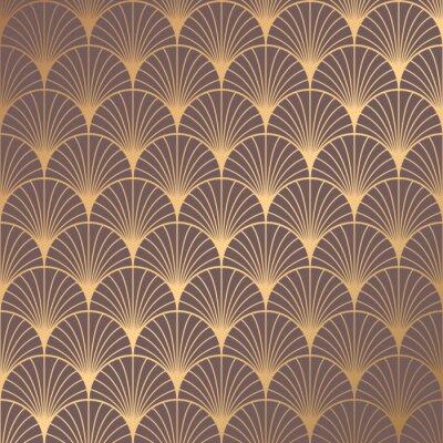 Nálepka Art Deco Pattern