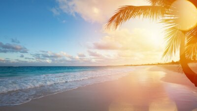 Nálepka Art Letní dovolená Ocean Beach