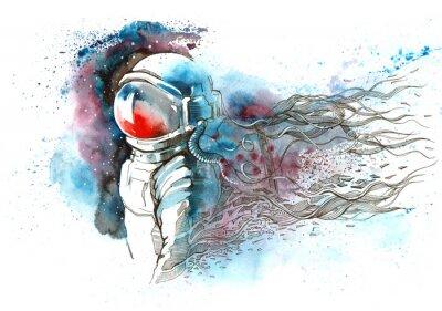Nálepka Astronaut