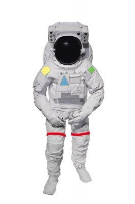 Nálepka Astronaut izolovaných na bílém pozadí