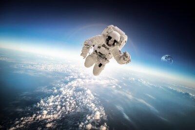 Nálepka Astronaut ve vesmíru