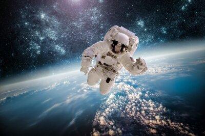 Nálepka Astronaut vnější SPAC Prvky tohoto snímku poskytl NASA.