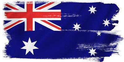 Nálepka Austrálie vlajka