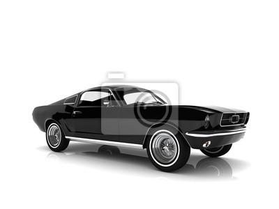 Nálepka auto izolované