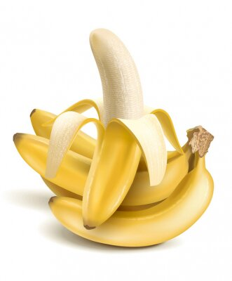 Nálepka Banány