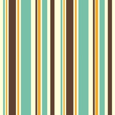 Nálepka barevné pruhované bezešvé vektoru vzor pozadí obrázku