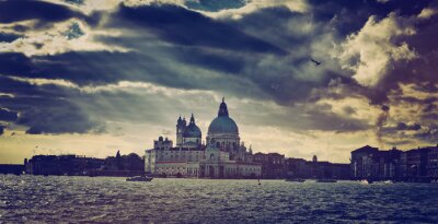 Nálepka Basilica di Santa Maria della Salute v Benátkách