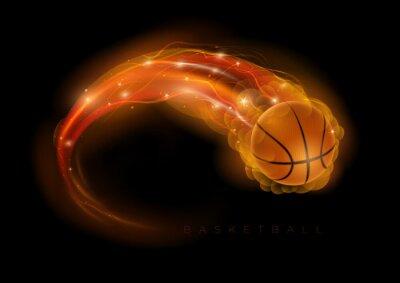 Nálepka Basketbal kometa