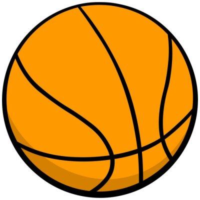 Nálepka Basketball