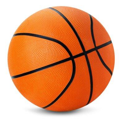 Nálepka basketball ball isolated on the white background
