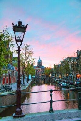 Nálepka Bazilika svatého Mikuláše v Amsterdamu