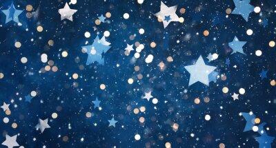 Nálepka Beautiful decorative Christmas background
