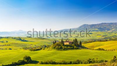 Nálepka Beautiful landscape in Tuscany, Italy