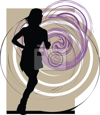 běh žena