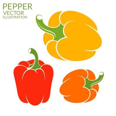 Nálepka Bell Pepper