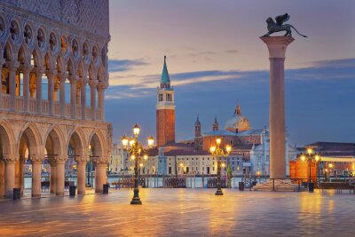 Nálepka Benátky.