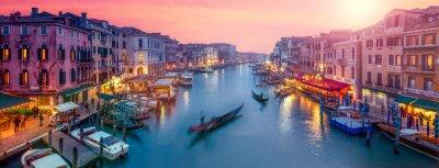 Nálepka Benátky Panorama