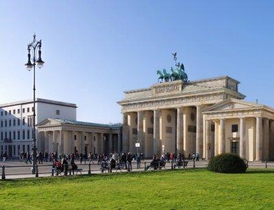 Nálepka Berlín Brandenburger Tor - Berlín Braniborská brána 04