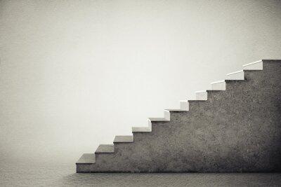 Nálepka betonová schodiště