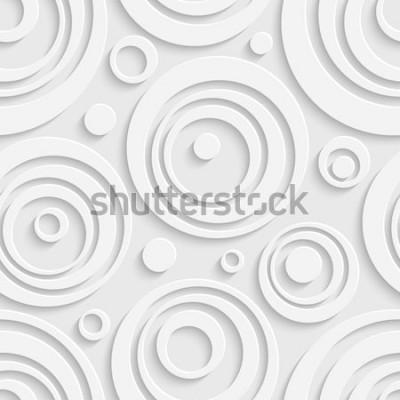 Nálepka Bezešvé kruhy vzor