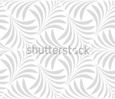 Nálepka Bezešvé vzor. Květinové stylové pozadí. Šedá a bílá ozdoba. Grafický moderní vzor.