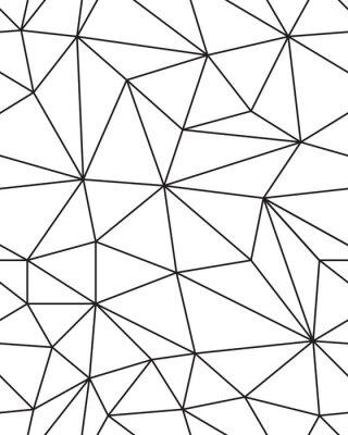 Nálepka Bezešvé vzorek geometrické textury ok