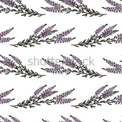 Nálepka Bezproblém bezproblém vzorek vzorek vzorek vzorek vzorek vzorek vzorek vzorek Krásné květinové prvky designu, luxusní pro tisk a vzor.