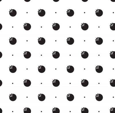 Nálepka Bezproblémové vzorek s granátovým jablkem