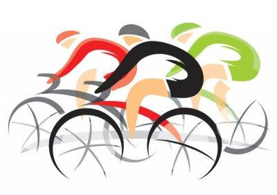 Nálepka Bicycle Race