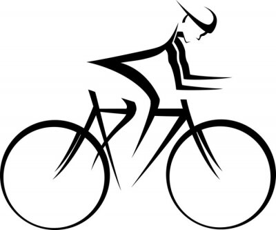 Nálepka Bicycle Racer Accent