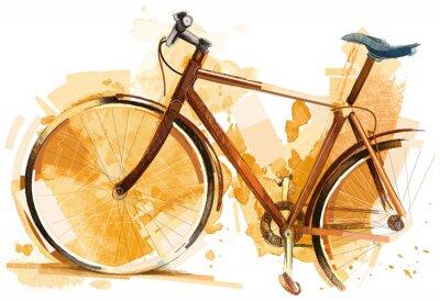 Nálepka Bike Race