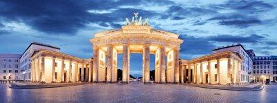 Nálepka Brandenburg Gate, Berlin, Germany - panorama