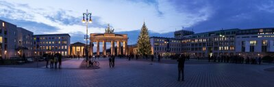 Nálepka Brandenburger Tor panorama