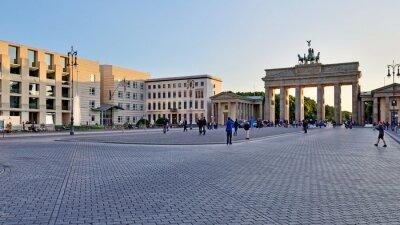 Nálepka Braniborská brána, Berlín