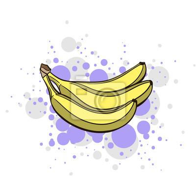 Nálepka Bright Juicy Banana