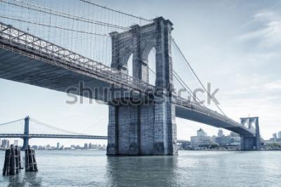 Nálepka brooklyn bridge in new york