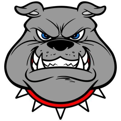 Nálepka Bulldog Growl