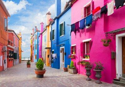 Nálepka Burano island, Venice, Italy