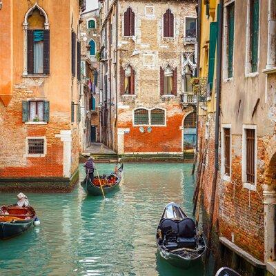 Nálepka Canal v Benátkách