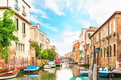 Nálepka Canal Venice Italy
