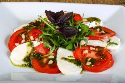 Nálepka Caprese salát